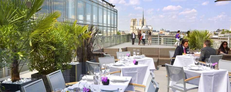 Restaurant terrasse r servation de restaurants avec for Restaurant avec jardin terrasse paris